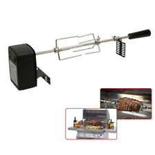 Automatic BBQ Motor Roast Branch Grill Rotisserie Electric Charcoal Pig Children