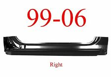 99 06 RIGHT Extended Rocker Panel, 2Dr Regular Cab, Chevy GMC Truck, 2.0MM Thick