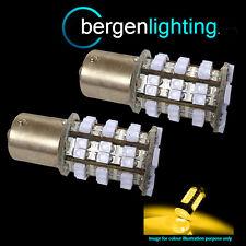 382 1156 BA15s 245 P21W AMBER 48 SMD LED FRONT INDICATOR LIGHT BULBS FI202201
