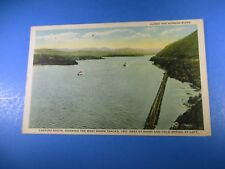 1928 Along The Hudson River Looking South Vintage Post Card PC41