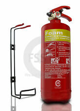 NEW 2 LITRE FOAM (AFFF) FIRE EXTINGUISHER - 2L/2LTR  BRITISH STANDARD KITEMARKED