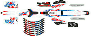 GasGas 2014 TXT Pro  30th Anniversary  Style Complete decal / sticker Set