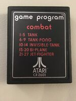 Atari 2600 Game Program (Combat) CX-2601 Video Game Only