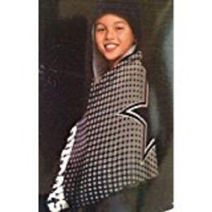 Towel wrap NFL Dallas Cowboys new hooded ages 3+ cotton Northwest Co