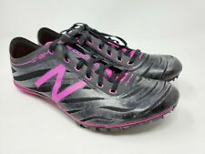 NEW BALANCE WSD400B3 WOMEN'S TRACK SHOES SZ : 9.5 BLACK AND PINK