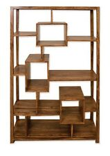Cube Petit Solid Sheesham Rosewood Bookcase Display Cabinet Shelf Unit RRP £689!