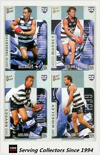 2004 Select AFL Ovation Trading Card Base Card Team Set Geelong (10)