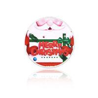Commemorative Coin Snowman Santa Claus Souvenir Collection Father/'s Day Gift