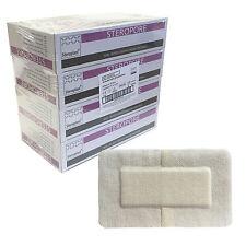Case of 100 Steroplast Steropore Premium Sterile Adhesive Wound Dressing 9x15cm