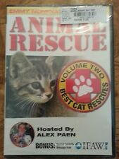 Animal Rescue Vol. 2 - Best Cat Rescue (DVD, 2006) New in Shrink Wrap