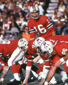 JIM PLUNKETT photo in action New England Patriots (c)