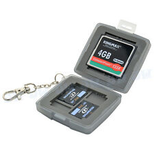 JJC Water-Resistant Hard Storage Memory Card Case For 4 XD+2CF+4 Micro SD Card