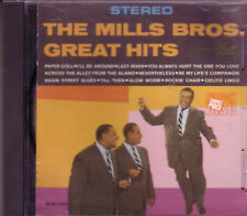MILLS BROTHERS Greatest Hits Anthology CD 50s 60s Rock PAPER DOLL LAZY RIVER