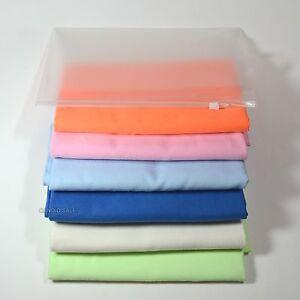 2 Pcs MicroFiber Long SPORTS TOWEL Gym Yoga Golf Swim with Zipper Bag