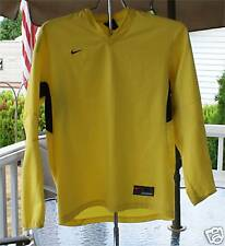 COLORFUL SOCCER SHIRT PADDED SLEEVES. SIZE XL YELLOW