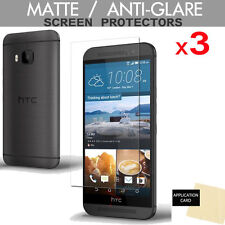 3 Pack of  HTC One M9 ANTI-GLARE MATTE Screen Protector Cover Guard Shield