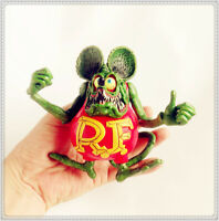 "red Rat Fink Ed! Big Daddy Roth RF Action Figure 4""-5"" loose #s3"