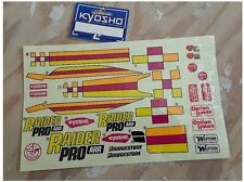 Vintage RC Kyosho RD-32 Decal - Kyosho Raider Pro ARR Old Stock Originals NEW
