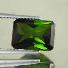 4.24cts Unique Free Shipping  100% Natural Green Tourmaline-loose gemstone