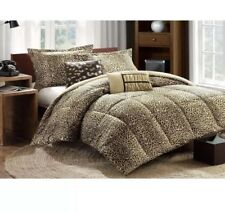 BED BATH BEYOND COZY COMFORTER SET In Bag TWIN / XL AMARA LEOPARD CHEETAH