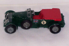 MODELS OF YESTERYEAR 1929 4 1/2 LITRE BENTLEY Made in ENGLAND by LESNEY