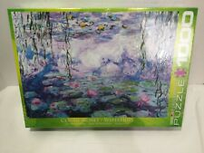 (EG60004366) - Eurographics Puzzle 1000 Piece - Waterlilies / Claude Monet - NEW