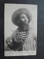 CP SOUTH AMERICA CHASSEUR DE LAMAS HUNTER  1902  DOS NON DIVISE