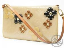 Sale AUTH PRE-OWNED LOUIS VUITTON LV VERNIS BEIGE FLOWER LEXINGTON M92246 170432