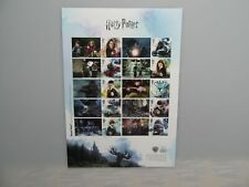 2018 Harry Potter Smilers / Collectors Sheet (A4 Size) MNH