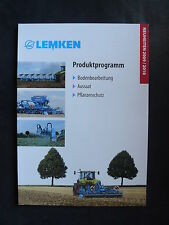 0043) LEMKEN Produktprogramm 2009/10 - Katalog Prospekt Brochure 11.2009
