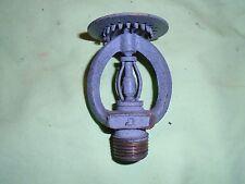 Star fire sprinkler brass head vintage old