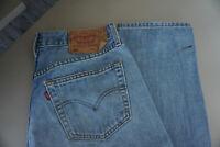 Levis Levi's 501 Herren Jeans Hose 34/30 W34 L30 stonewashed blau TOP AB36