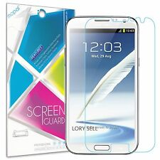 9x Samsung Galaxy Note 2 N7100 Screen Protector Clear Anti-Scratch