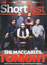 THE MACCABEES GIG 50 CENT PIXAR  SHORTLIST 23 JULY 2015