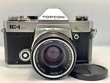Reflex Argentique Film 35mm TOPCON IC-1 Auto + Objectif Hi-TOPCOR 50mm f/2 Lens