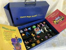  Disney/Nestle Magic Ball Display Case Hercules Lion King Dalmatians Aladdin