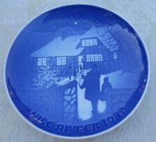 1973 Copenhagen Plate Country Christmas Denmark B&G Limited Edition