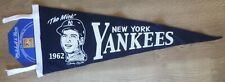 "MITCHELL & NESS RETRO 1962 MICKEY MANTLE ""THE MICK"" YANKEES WALL PENNANT"