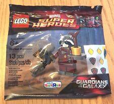 LEGO Marvel Guardians Of The Galaxy - Rare - ROCKET RACCOON 5002145 - New Sealed