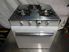 Robertshaw Vintage Oven 3 Burner for Trailer Antique Stove Small Range 4 Camper
