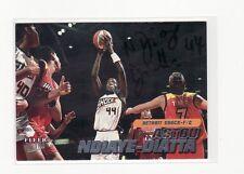 Astou Ndiaye-Diatta Detroit Shock Autographed Basketball Card