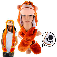 Dazzling Toys Plush Monkey Hat with Long Paws Multi-functional Novelty Hoodie