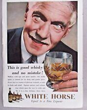 White Horse Whiskey PRINT AD - 1941