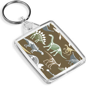 Awesome Dinosaur Skeleton Keyring - IP02 - T-Rex Bones Jurassic Cool Gift #8383