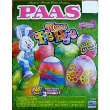 Paas Paas Neon Tie Dye Fun Expressions Easter Egg Decorating Kit