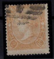 P133236/ SPAIN – ISABELLA II – EDIFIL # 80 USED – CV 510 $