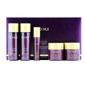 OHUI Age Recovery 5 Items Kit Eye Cream Essence Anti-Wrinkle Anti-Aging K-Beauty