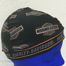 Harley Davidson Skull Cap Beanie Hat Biker Bike Daytona Adult Stretch-Fit