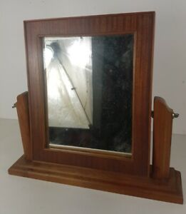 Mirror Of Dressing Table Foot Wooden Solid, Frame Of Mirror IN Veneer