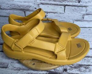 Teva Sandals Mens Size 12 Hurricane Drift Sunflower Yellow Water Shoes